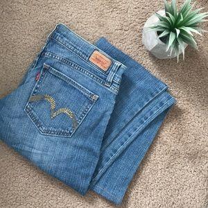 "LEVIS 👖 ""too superlow 524"" Jeans"
